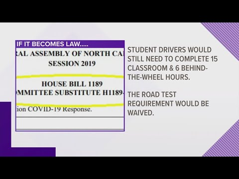 House Passes Bill Addressing Driver Road Tests