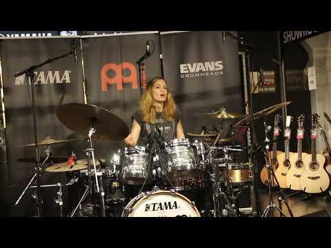 Anika Nilles - Drumclinic, 4Sound Norge (Schous Plass) 5.03.2019, Oslo, Norway - PART#1