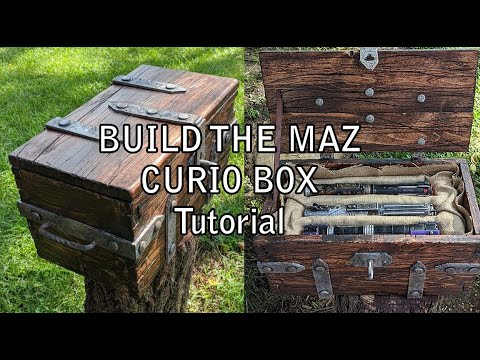 MAZ KANATA CURIO BOX Tutorial