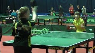 Анастасия ДОНЧЕНКО - Александра МОРГУНОВА Настольный теннис, Table Tennis