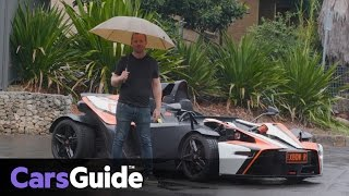 KTM X-Bow R 2017 review | road test video
