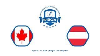 E-BOX 2019: 1 - Canada U20 - Austria