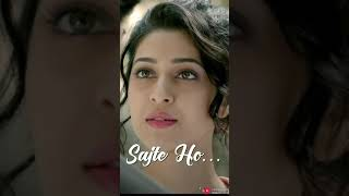 Sajte Ho (Lyrical Video Maker Status)Karan Sehmbi | Sonarika Bhadoria