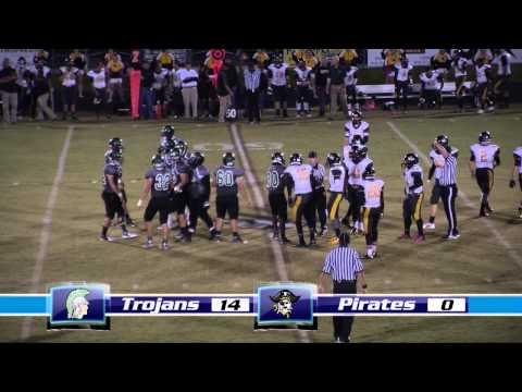 West Brunswick High School Varsity Football vs.Topsail 10-17-14