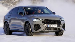 Audi RS Q3 Sportback (2020) Test Drive on Ice