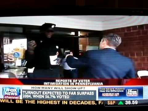 Black Panthers Intimidating Voters During Election Day 2008