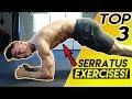 Top 3 Serratus Exercises For Shredded Abs