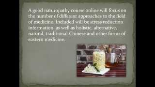 Online naturopathy courses