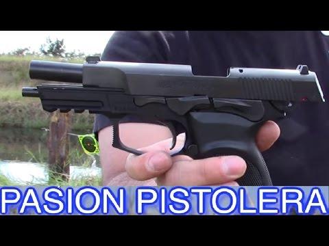 Pistola Bersa Thunder 9 Pro en español *Pasion Pistolera* Armas en español