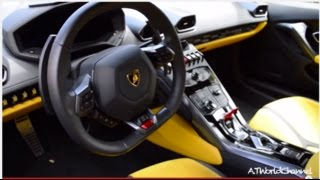 POV:Lamborghini Huracán 360 Degrees POV Interior Close Up Look!