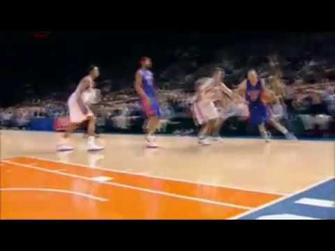 Tayshaun Prince Dunks over Eddy Curry 05-06