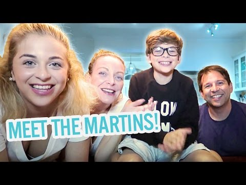 Meet the Martins! | with Baby Ariel, Jacob, Sharon, and Jose