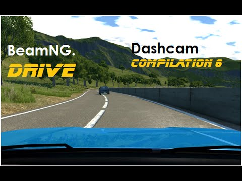 BeamNG. Drive - Dashcam Crashes Compilation 6 [Real Voices]