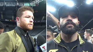 CANELO'S BRO REACTS TO GENNADY GOLOVKIN VICTORY IN FRONT OF 21K ON MEXICAN INDEPENDENCE DAY