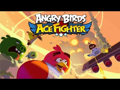 Angry Birds: Ace Fighter (by Siamgame Mobile) iOS / Android - HD Gameplay Trailer (Sneak Peek)