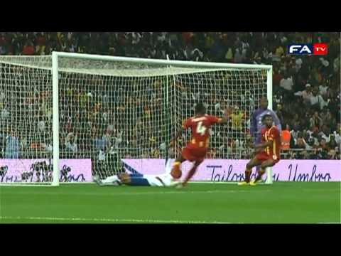 England 1-1 Ghana | Official Pitchside Highlights 29/03/2011