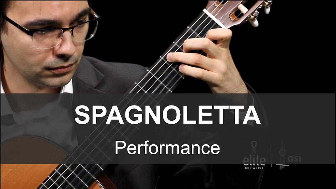 """Elite Guitarist - """"Spagnoletta"""" - Performance by Tomasz Fechner"""