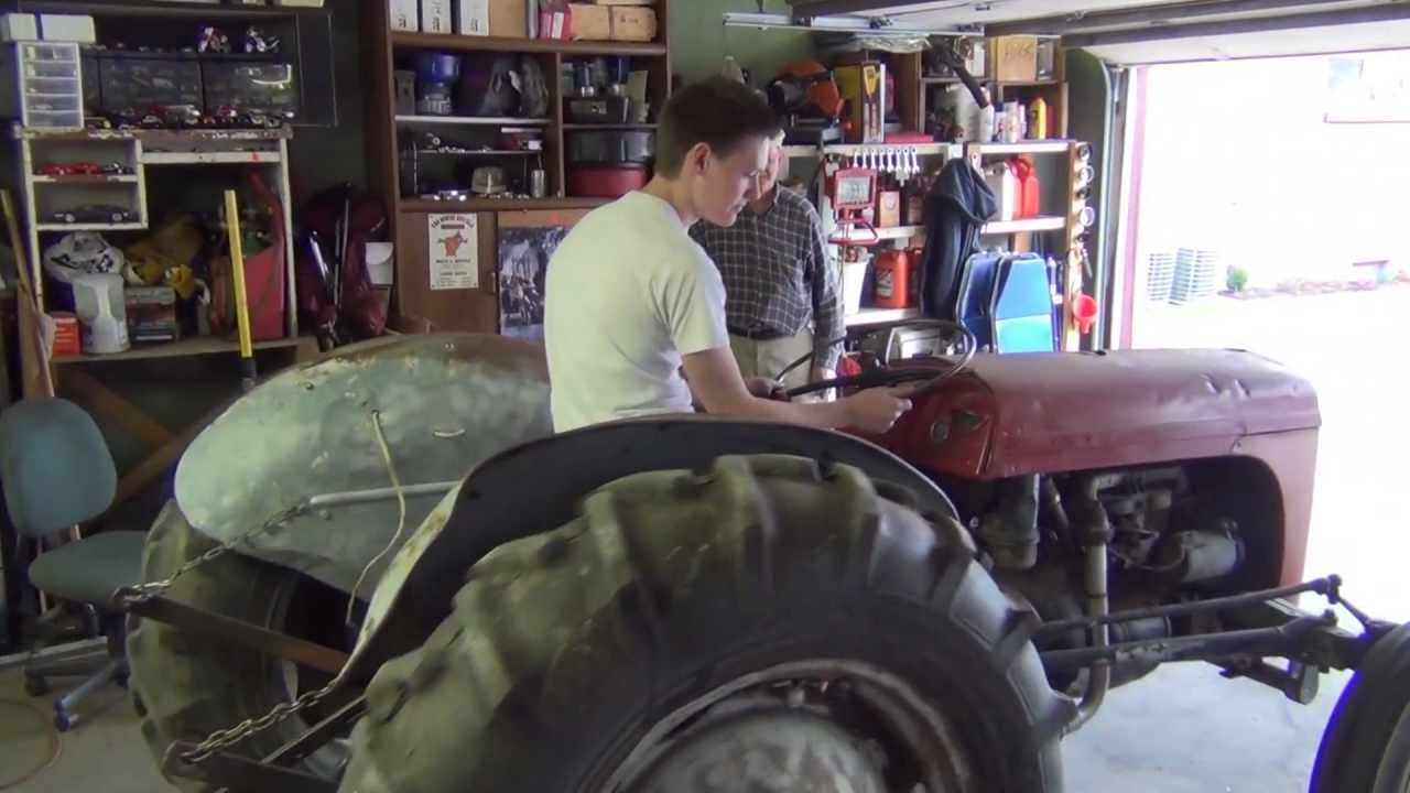 Massey Ferguson Tractor Maintenance  YouTube