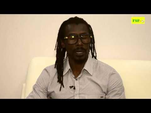 Aliou Cissé, interview d'aprés match Niger - Sénégal (1-2)