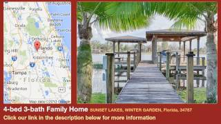 4-bed 3-bath Family Home for Sale in Winter Garden, Florida on florida-magic.com