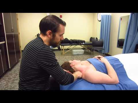 Massage Tutorial: Thoracic outlet syndrome, tingling fingers, myofascial release