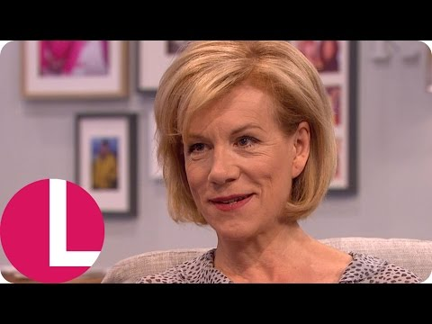 Juliet Stevenson On Alan Rickman's Tough Love Friendship And Helping Refugees in Calais | Lorraine