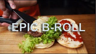 Epic B-roll Burger video for Leo Leo Restaurant, Berlin