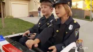 Sidewalk Cops 1 | Behind The Scenes | Kids Videos | Police kIds