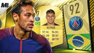 FIFA 18 NEYMAR REVIEW | 92 NEYMAR PLAYER REVIEW | FIFA 18 ULTIMATE TEAM