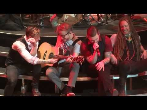'Sittin on the Dock of the Bay' Shinedown@House of Blues Atlantic City 5/4/13 Amaryllis Tour