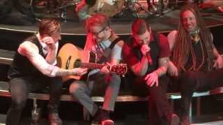 """Sittin on the Dock of the Bay"" Shinedown@House of Blues Atlantic City 5/4/13 Amaryllis Tour"