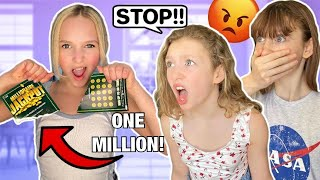 FAKE LOTTERY TICKET PRANK on my Best Friends! GONE HORRIBLY WRONG!