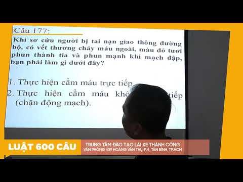 Lý Thuyết 600 Câu Hỏi Luật GTĐB 2020 Phần CHỮ ( Câu 151 - 222 ) Phần 3 - Thầy Nguyên