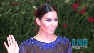 Elisabetta Gregoraci: look sofisticato sul Red Carpet di Venezia 73