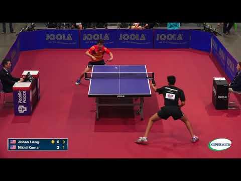 2017 US Open Men's Singles Rd 32 -  Jishan Liang V Nikhil Kumar (Full Match)