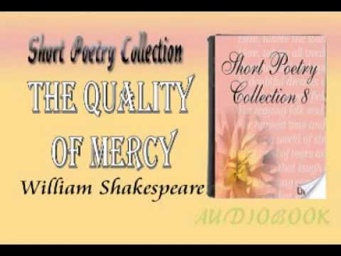The Quality of Mercy William Shakespeare Audiobook Short Poetry