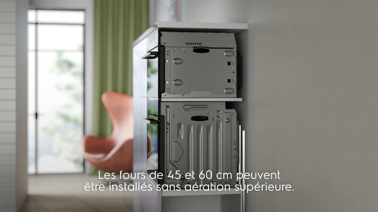 Colonne Four Et Micro Onde perfectfit: aide à l'installation de votre four electrolux