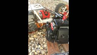 rodage moteur baja zenoah g290 rc bajbaja76