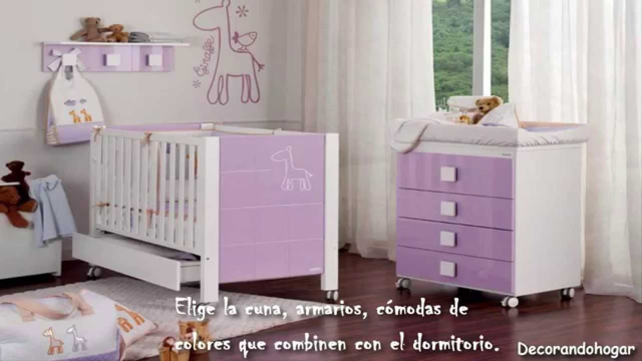 Decoraci n dormitorio para ni as decorando cuarto de la for Decoracion de cuarto para nina recien nacida