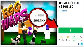I HAVE A GAME IN ROBLOX WITH 200K OF VISITS!!