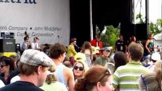 Lance Lapinsky (Rockabilly) - (The Beatles) Slow Down @ The Richmond Folk Festival 2012