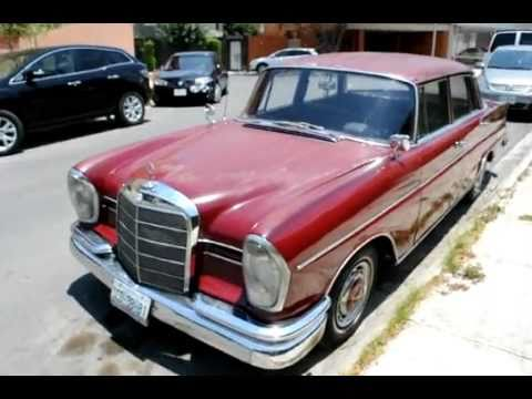 My Old Mercedes Benz 220s 1963 Youtube