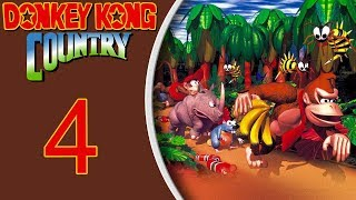 Donkey Kong Country (SNES) playthrough pt4 - CRAZY Jumps and Into Kremkroc Industries