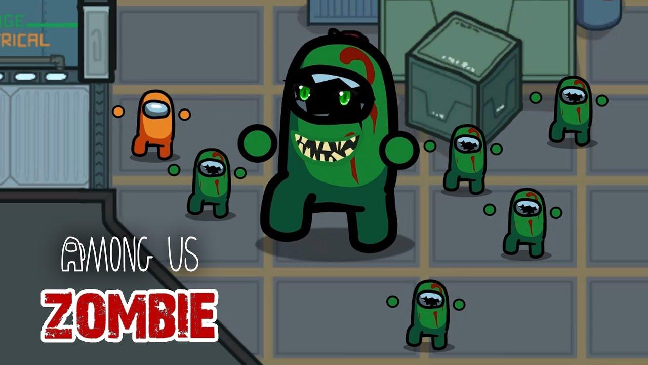 Among Us: distraction dance vs 100 Zombie - Funny Animation (part.9)