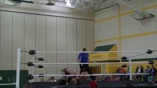 Elite Wrestling (5/30/14): The Romantic Touch vs. Caveman Chad