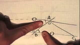 Признак параллельности прямых   по Погорелову