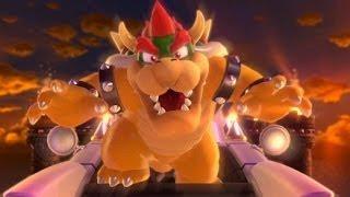 Super Mario 3D World 100% Walkthrough Part 2 - World 1 (1-4, 1-5, 1-Toad, 1-C ) Green Stars & Stamps