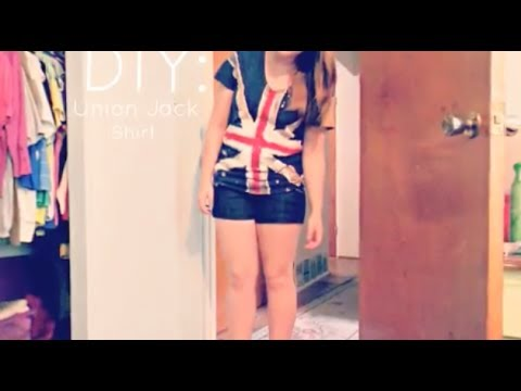 DIY: Union Jack Shirt
