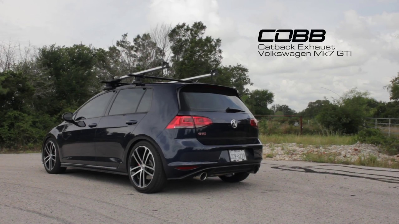 Cobb Tuning Volkswagen Mk7 Gti Sound Check