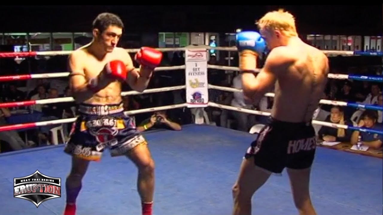 Eruption Muay Thai 3: Frank Giorgi Vs Daniel Holmes